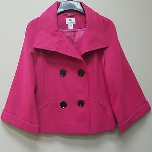 🆕️Sangria Pea Coat
